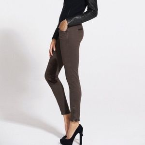 J Brand SZ 29 Jodphur Chocolate Brown Twill Jeans